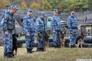 Соревнования по многоборью среди специалистов-кинологов со служебными собаками
