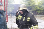 Пожар на складе ЗСТ