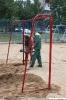 Новая спортплощадка для детворы на Невской