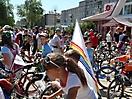 Велопарад, приуроченный к празднованию Дня России